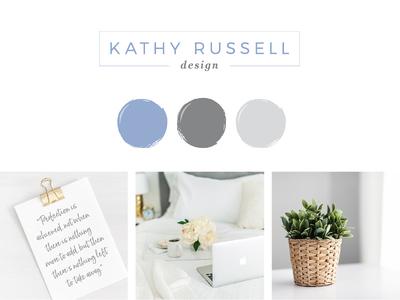 Kathy Russell Design - Branding + Website