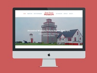 Website Design for Fort Point Museum