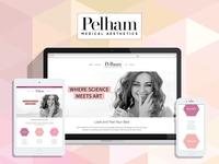 Website Design + Build for Pelham