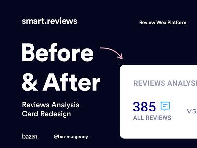 Smart.Reviews - Reviews Analysis Redesign webdesign design thinking uiuxdesigner uiux design ui design ui  ux graphicdesign webapp design webapplication webapps uidesigner uidesign clean webapp uiuxdesign userinterface uiux designagency ui design agency