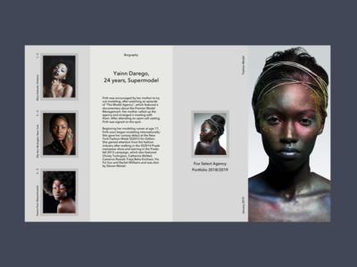 Fashion Models Biography Page