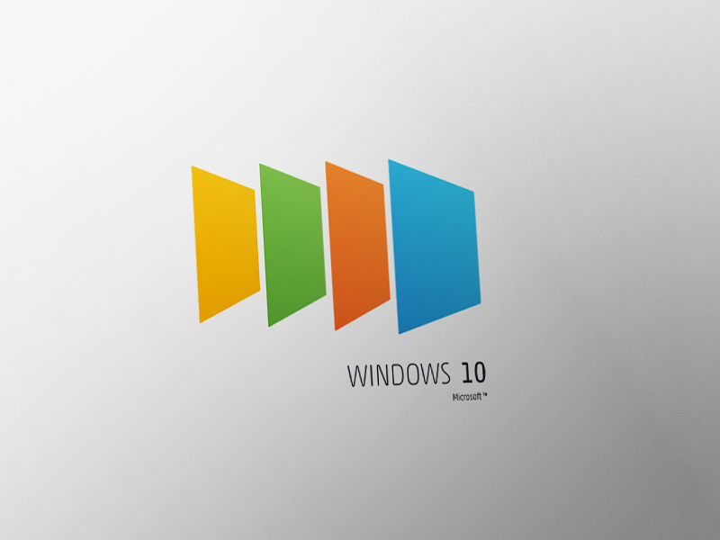 Windows 10 Concept Logo By Mohamed Yahia