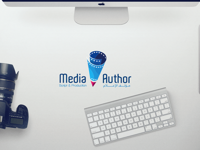 Media Author Co website media author colourful portfolio contact services slider one page map brand hero image