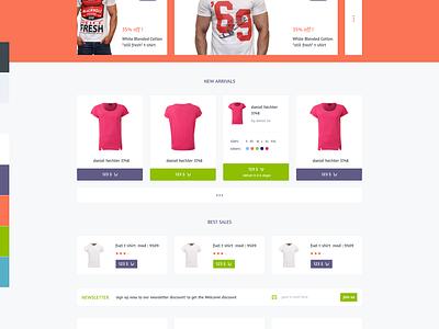 Markito - Freebie Shopping  psd template freebie free psd download shopping shop cart store market