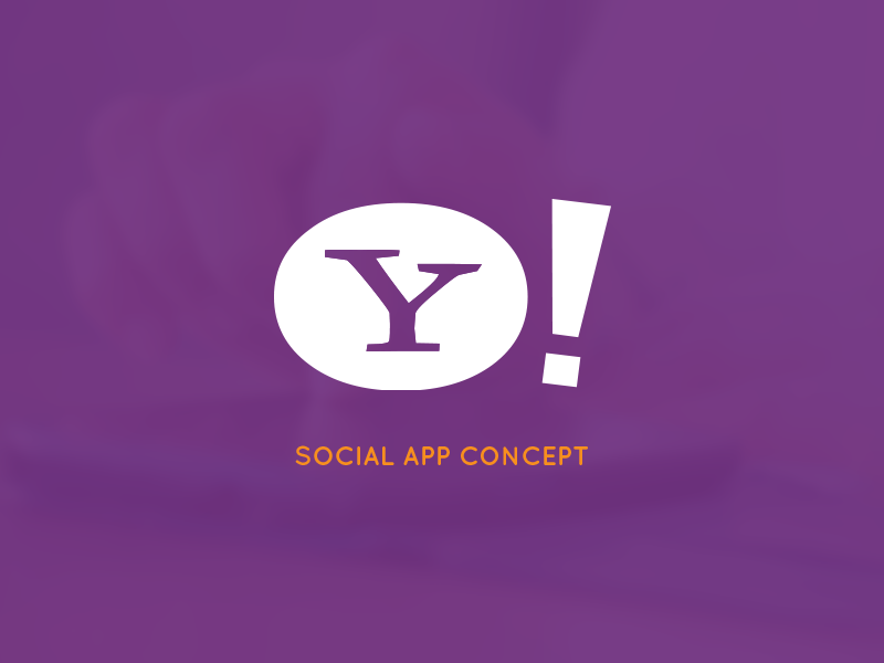 Yahoo Live - Social App Concept by Mohamed Yahia on Dribbble