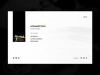 Mohamed Yahia Studio - Website Design
