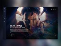 Movie service UX/UI design