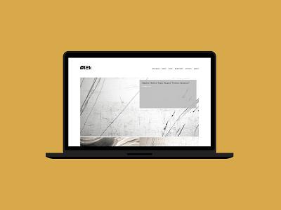 12k mock-up web design 12k website