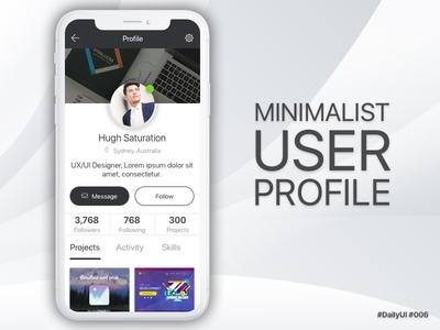 Minimalist User Profile