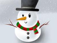 Procreate pocket : Snowman