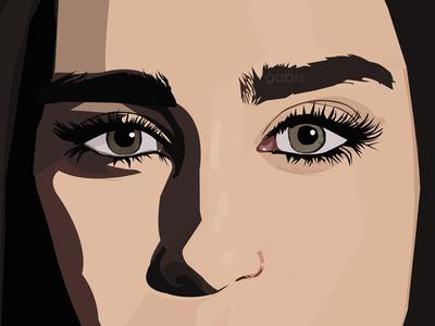 Lauren photoshop illustrator illustration vector art cartooning vector vexel fifth harmony lauren jauregui