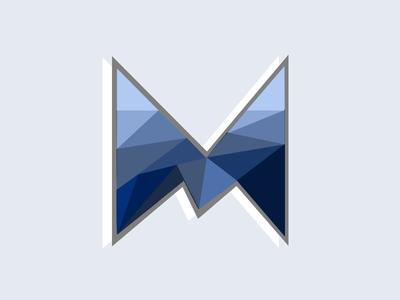 """M"" design graphic artist dribbble illustrator illustration vexel vector art vector logo"