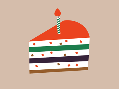 cake simple vector cake anniversary event illustration literature flat