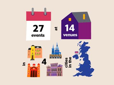 The London Book Fair infographic illustration uk london book fair colorful event