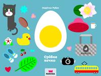 Silver egg book cover