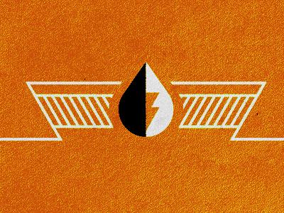 NGS logo ngs texture logo drop enegy