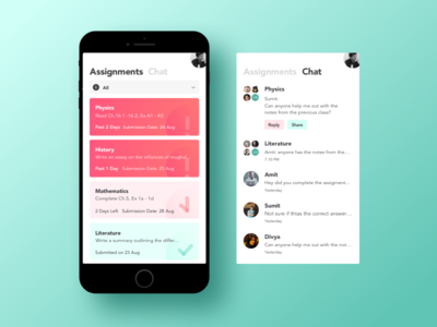 Assignment Tracking App