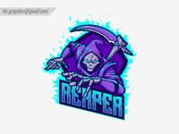 Reaper Skull Logo
