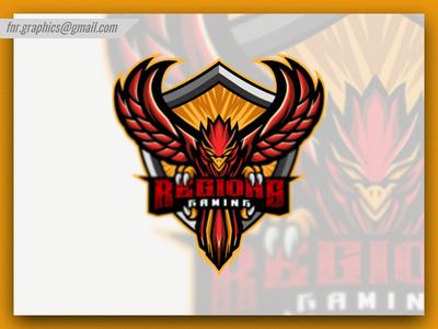 Regions Gaming Esport Logo