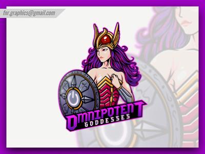 Omnipotent Goddesses Esport Logo