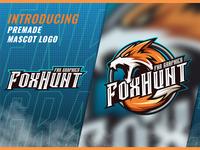 FoxHunt Esport and Mascot Logo