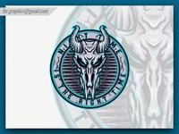 Skull Horn Esport and Mascot Logo