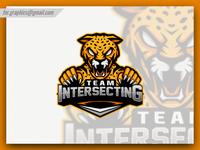 Leopard Esport  Mascot Logo