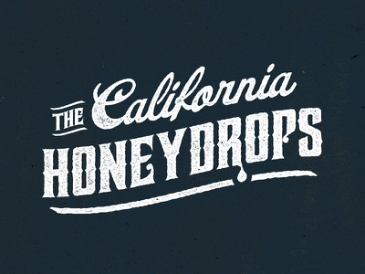 The California Honeydrops type western southern texture