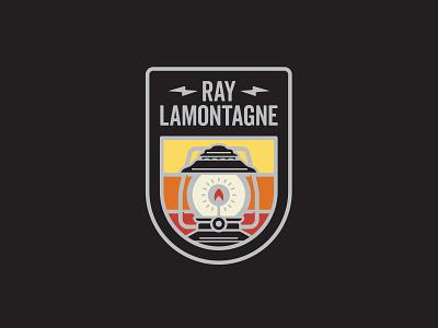Ray Lantern band shirt merch enamel pin ray lamontagne lantern