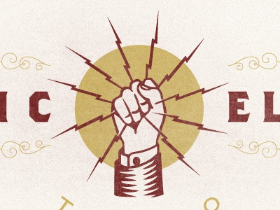 Electric 2 logo tattoo classic electric brothers
