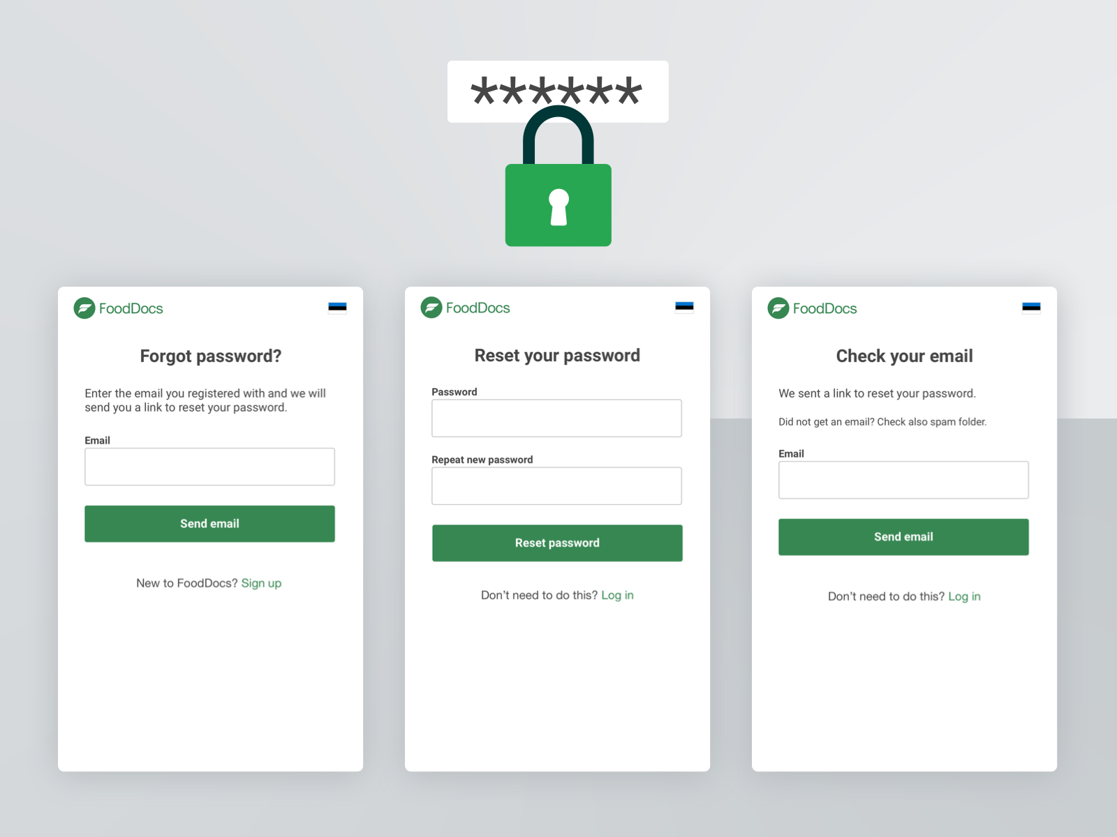 Forgot password by Pille on Dribbble