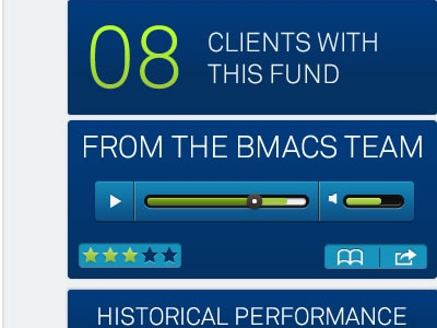Product Detail Screen ipad app ios design financial services drive