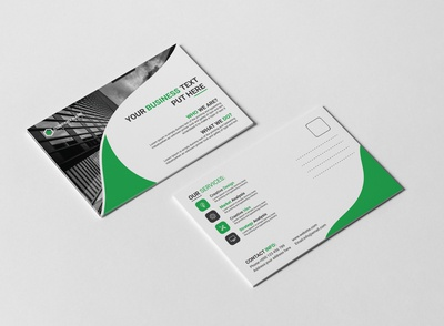 Post Card Design Template