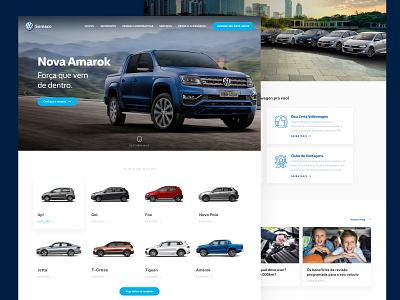 VW Somaco marvelapp vw volkswagen marvel ux design ux ui design ui technology sketchapp sketch page design landing page