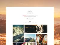 WIP personal portfolio website