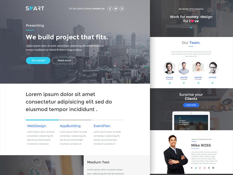Smart Modern Email Template Builder 2 0 By Tarik Nachat