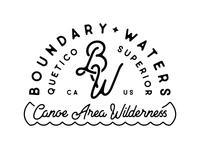 Boundary Waters type mark