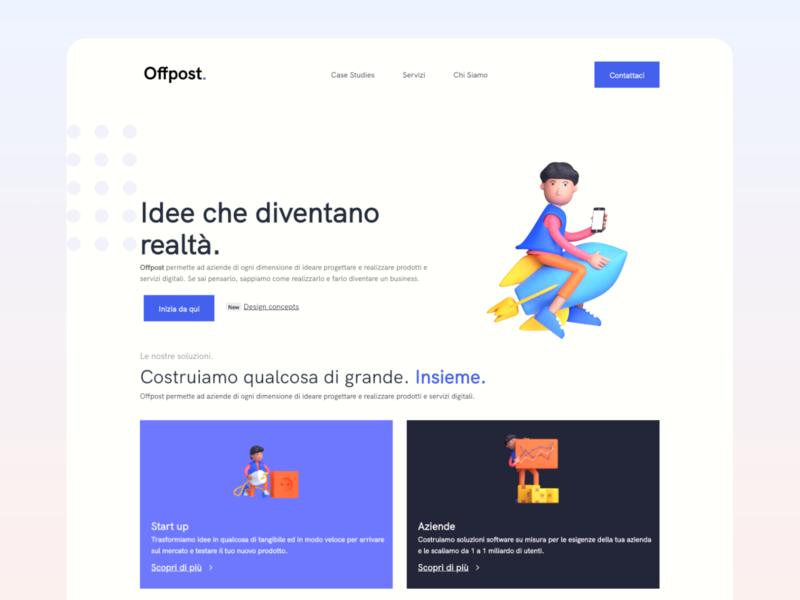 Web Design - Agency design agency website bootstrap ux clean ui clean webdesign
