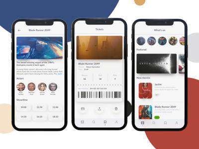Movies & Ticket - iOS app Concept