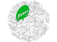 Fiverr Circle isometric