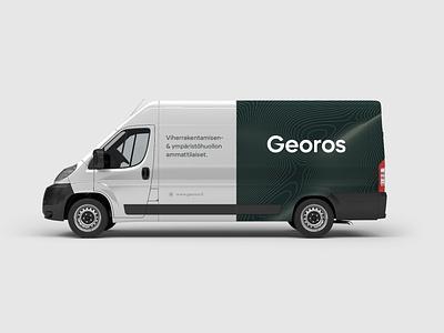 Branding • Georos • Landscape Architecture logo design brand brand identity branding