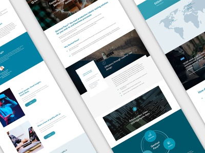 Website blocks and modules web design webdesign