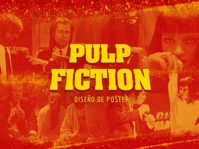POSTER DESIGN - PULP FICTION