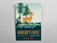 Hunters Feast Event Poster