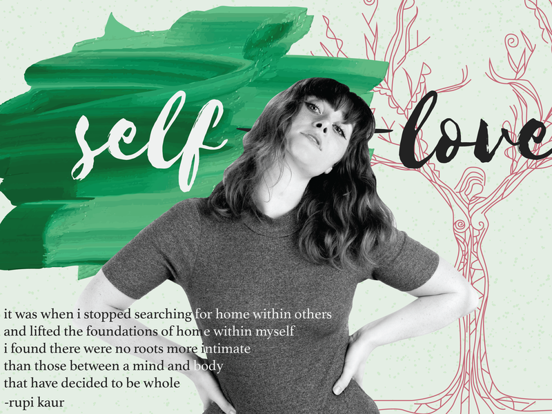 My Favorite Typefaces paint design challenge daily art type daily roots tree female model model graphic design illustration quote quotes rupi kaur quote rupi kaur self growth self love collage type art fonts type