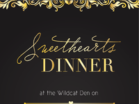 Sweethearts dinner poster 01
