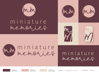 Miniature Memories Branding