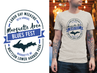 Marquette Blues Fest Logo