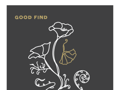 Fiddlehead Coffee Co. Illustration coffeeshop fiddlehead vector branding minimal illustration nouveau