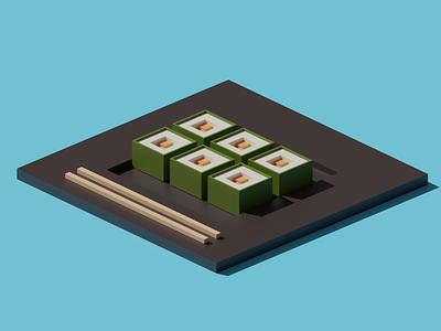 Sushi 🍣 blender3d